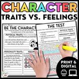 Digital Character Traits vs. Feelings Exploration