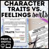 Digital Character Traits vs. Feelings Sort