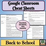 Google Classroom Distance Learning- Parents - Students - T