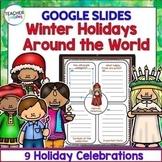 GOOGLE CLASSROOM ACTIVITIES | CHRISTMAS AROUND THE WORLD