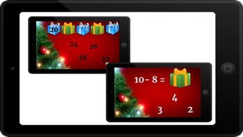 Google Classroom: Christmas Math Bundle
