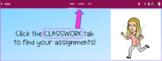 Google Classroom Classwork Tab Header Photo