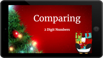 Google Classroom: Comparing 2 Digit Numbers- Christmas