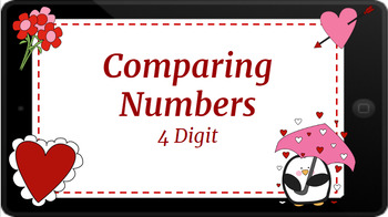 Google Classroom: Comparing 4 Digit Numbers
