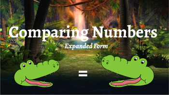 Google Classroom: Comparing Numbers Expanded Form
