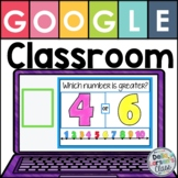 Google Classroom Comparing Numbers and Amounts