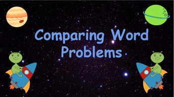 Google Classroom: Comparing Word Problems Activity