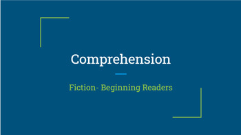 Google Classroom: Comprehension Passages and Questions