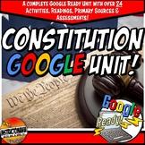 Google Classroom Constitution Complete Unit Activity Set Grades 6, 7 and 8