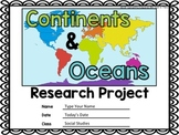 Google Classroom Continents Research Project