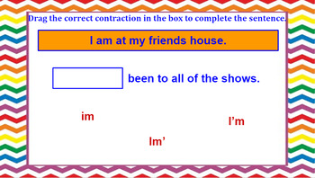 Google Classroom: Contractions