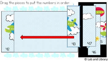 Counting 1-100 Puzzles: Digital Activities for Google Classroom