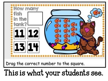 Google Classroom Counting 1-20 and Adding from Ten