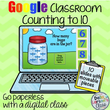 Google Classroom Counting to 10