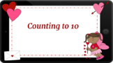 Google Classroom: Counting up to 10- Valentine's Day