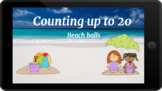 Google Classroom: Counting up to 20- Beach Balls