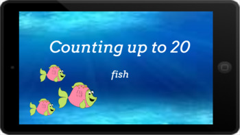 Google Classroom: Counting up to 20- Fish