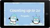 Google Classroom: Counting up to 20- Penguins