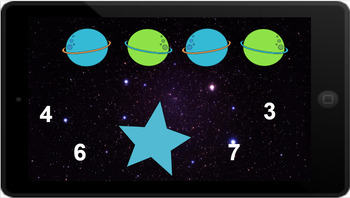 Google Classroom: Counting up to 20- Planets
