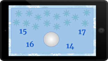 Google Classroom: Counting up to 20- Snowflakes