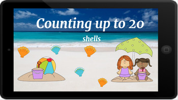 Google Classroom: Counting up to 20- shells