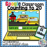 Google Classroom Counting to 20 With Ten Frames