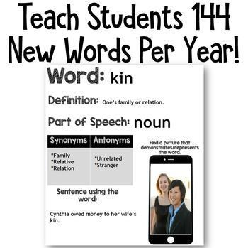 Google Classroom DIGITAL Word of the Day: Grades 5/6