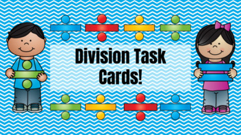 Google Classroom DIVISION Digital Task Cards