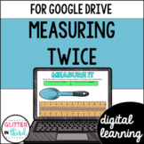 Google Classroom Digital 2nd Grade Measurement in Inches & Centimeters 2.MD.A.2