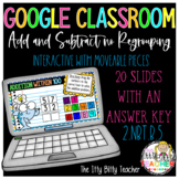 Google Classroom Addition and Subtraction within 100 witho