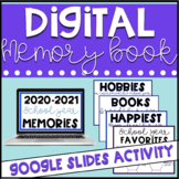 Google Classroom Digital End of School Year Memory Book #m