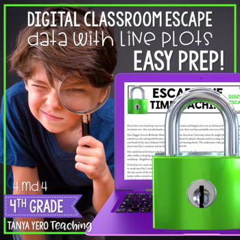 Google Classroom Digital Escape Math Digital Escape Room 4.MD.4 Line Plots