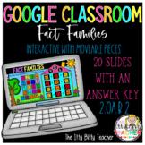 Google Classroom Digital Fact Families to 20 2.OA.2