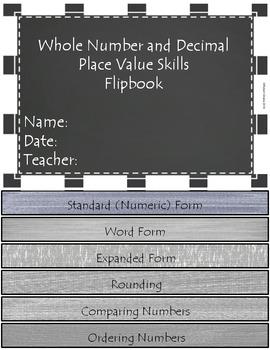 Google Classroom Place Value Skills Digital Flipbook