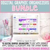 Google Classroom Digital (Paperless) Graphic Organizers BUNDLE