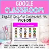 Digital Graphic Organizers for Google Classroom FICTION