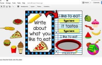Digital Journal for Beginners for Google Classroom
