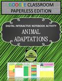 Adaptations Digital Notebook for Google Classroom - Distan