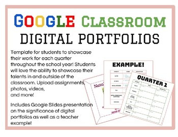 Digital Portfolios/ePortfolios by Quarter!