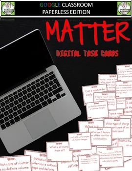 Google Classroom MATTER Digital Task Cards