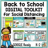 Google Classroom Distance Learning Back to School BUNDLE