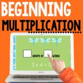 Google Classroom Distance Learning - Beginning Multiplication