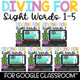 Google Classroom Distance Learning Building Sight Words Bu