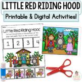 Little Red Riding Hood Google™ Slides   Digital & Printabl