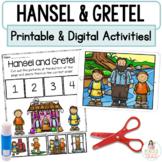 Hansel and Gretel Google™ Slides | Digital & Printable Fairy Tale Activities