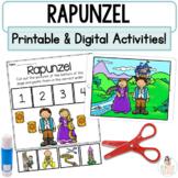 Rapunzel Google™ Slides   Digital & Printable Fairy Tale Retell Activities
