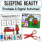 Sleeping Beauty Google™ Slides   Digital Fairy Tale Retell and Printables