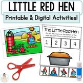 The Little Red Hen Google™ Slides   Digital & Printable Fa