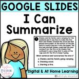 Google Classroom Distance Learning Google Slides Summarizi