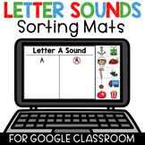 Digital Beginning Letter Sound Recognition Sorting for Goo